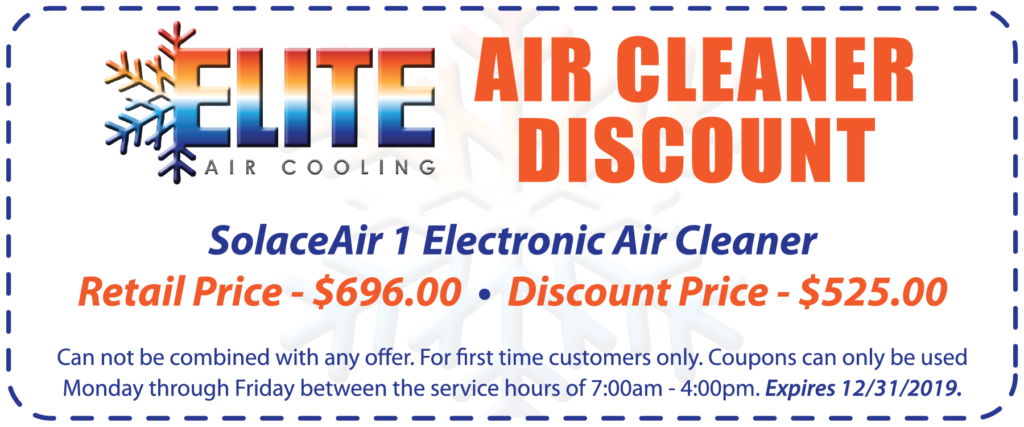 Air cleaner discount coupon